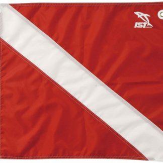 Duikvlag rood wit IST sports