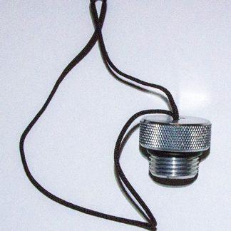 Aluminium stofcap DIN kraan
