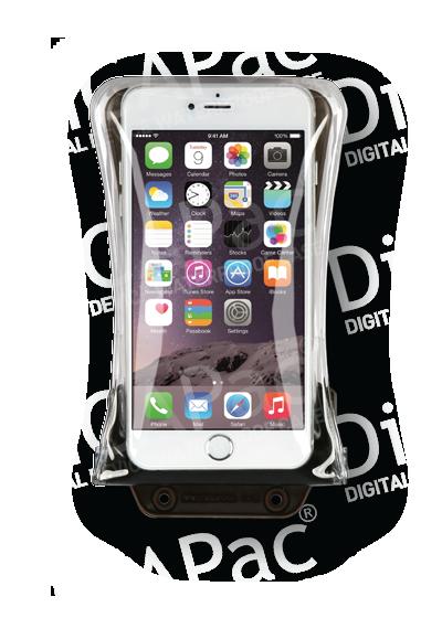 Waterdichte beschermhoes voor grote smartphone Dicapac