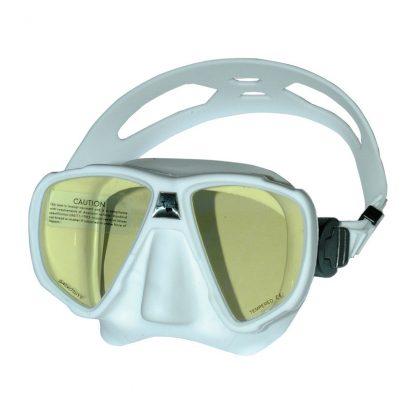 Duikbril frameloos Saekodive UV twee glazen wit