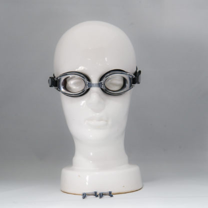Classic clear zwembril